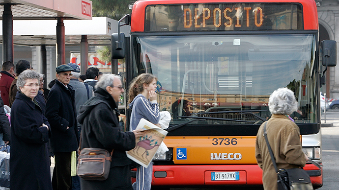 'They said I have Ebola': Angry bus passengers attack Guinean woman in Rome