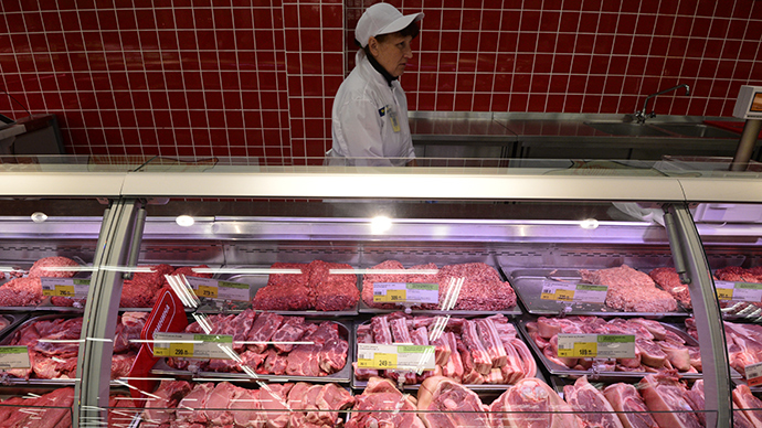 Pork from EU disguised as mushrooms, bubble gum busted by Russia