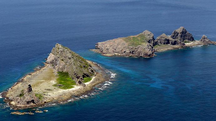 Senkaku Islands (Image from wikipedia.org)