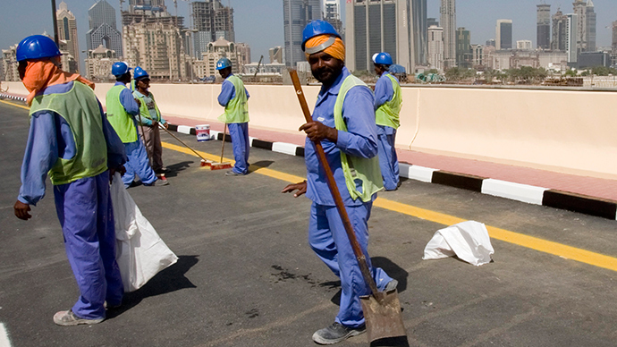 abuse of workers in the united arab emirates