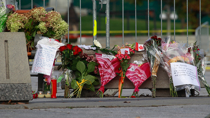 ​CCTV video captures Ottawa gunman's parliament rampage