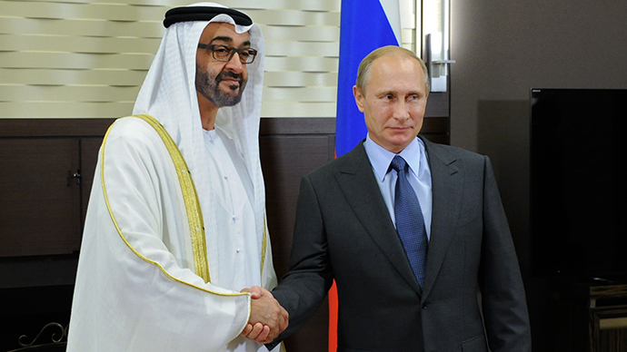 Putin meets Crown Prince of Abu Dhabi, reveals concerns over Iraq, Libya