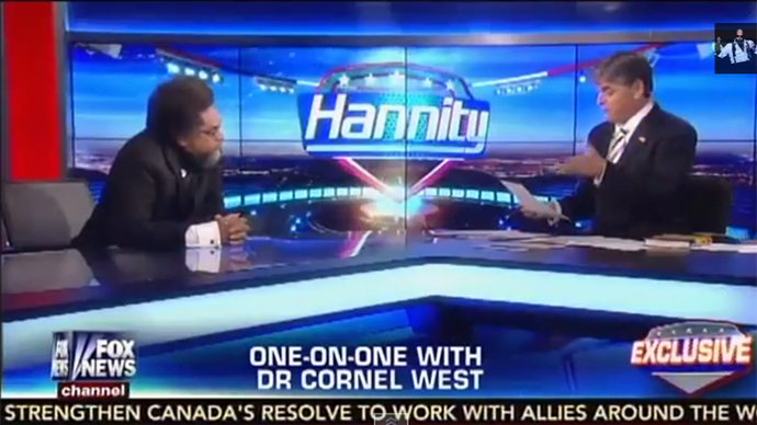Cornel West calls Sean Hannity 'brother,' Hannity says he'd bail him out of jail