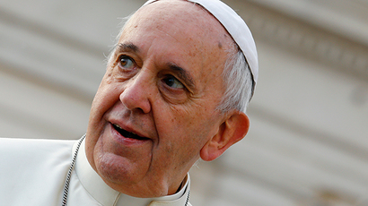 Pope Francis says 'old infertile granny' Europe should stop treating people as 'cogs in machine'