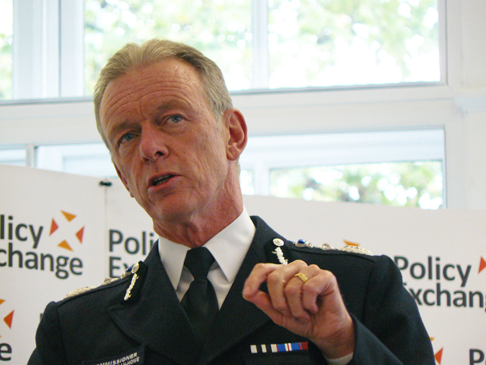 Met Commissioner Bernard Hogan-Howe (Image from wikipedia.org)