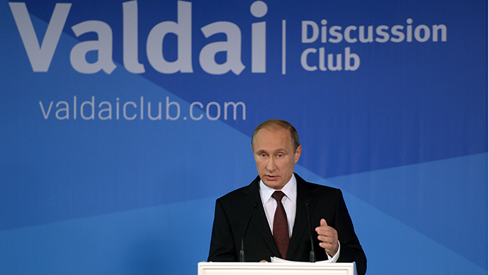 Putin lashes out at US, West for destabilizing world