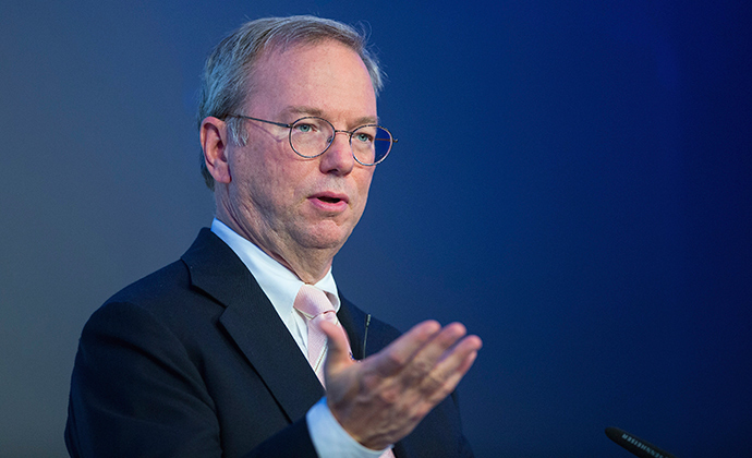 Google Executive Chairman Eric Schmidt (Reuters / Hannibal)