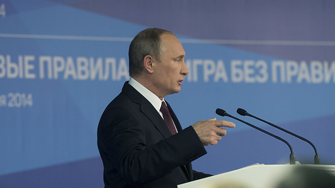 Putin: Russian bear won't ask for permission