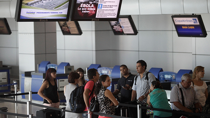 Nigerian drug mule left to die at Madrid Airport over Ebola fears
