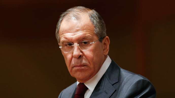 Russian Foreign Minister Sergei Lavrov.(Reuters / Maxim Zmeyev)