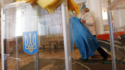 Ukrainians choose MPs in early elections