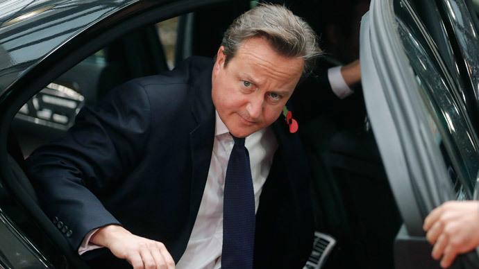 Britain's Prime Minister David Cameron.(Reuters / Christian Hartmann )