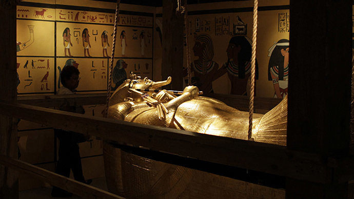 Tutankhamun died of illness, not from chariot racing