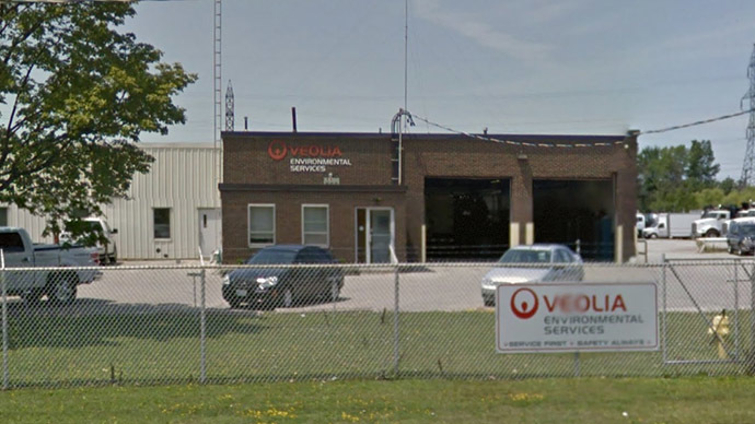 Five injured after industrial explosion in Ontario