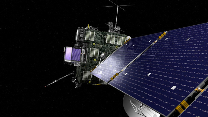 Rosetta unmanned spacecraft (Reuters / NASA)