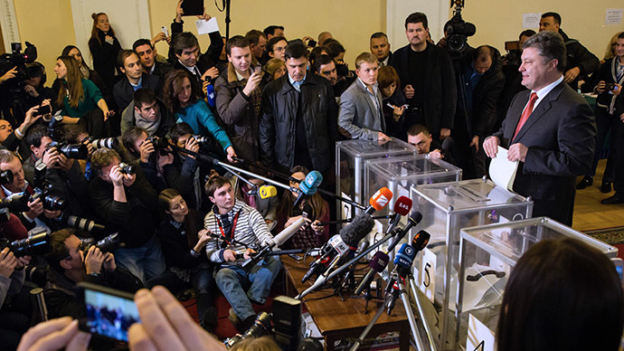 Ukraine PM's team leads elections, 6 parties making it to Rada