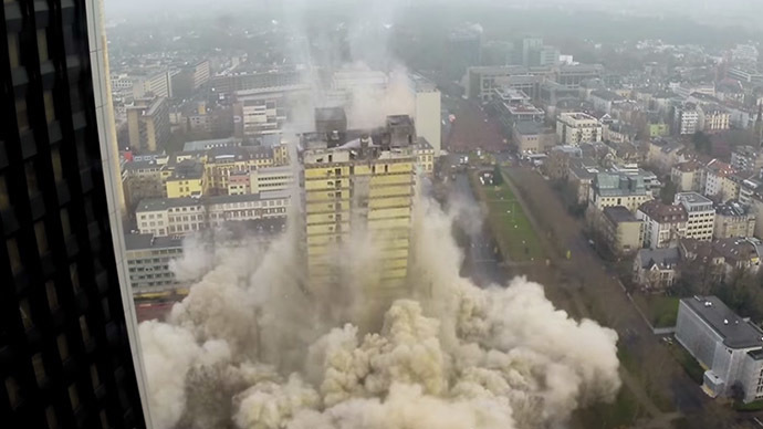 ​Art of destruction: Controlled demolition captured on cam (VIDEOS)
