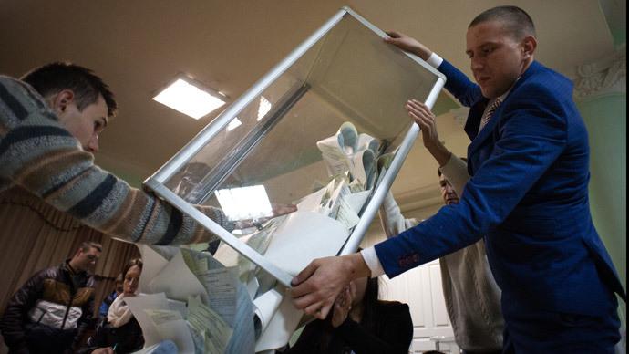 Russia ready to recognize Ukraine parliament election - Lavrov