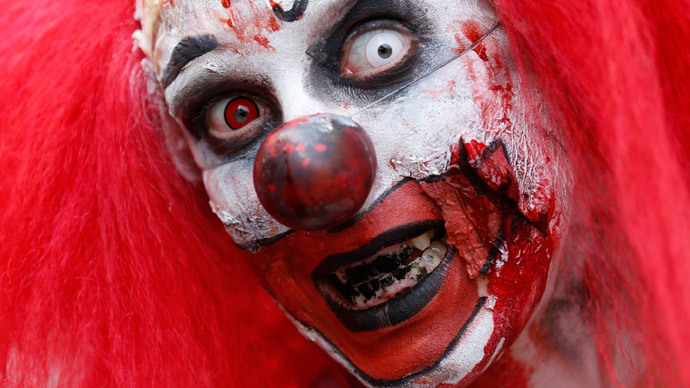 IT is real: Viral evil clown attacks grip France