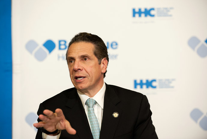 Governor Andrew Cuomo of New York (Bryan Thomas / Getty Images / AFP)