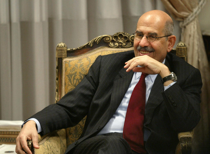 The head of the United Nations' atomic energy watchdog (IAEA) Mohamed ElBaradei (AFP Photo)