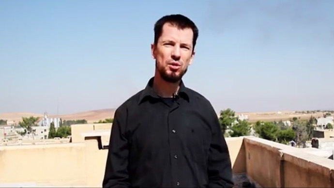 ISIS hostage John Cantlie 'accepts fate' in new propaganda video