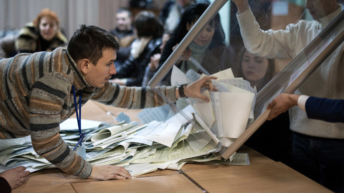 Russia ready to recognize Ukraine parliament election - Lavrov