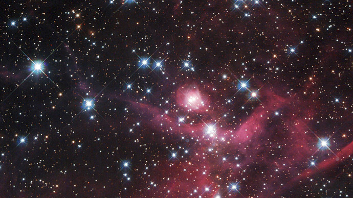 Cosmic Chaos: Turbulence prevents cluster galaxies from forming stars (PHOTO)