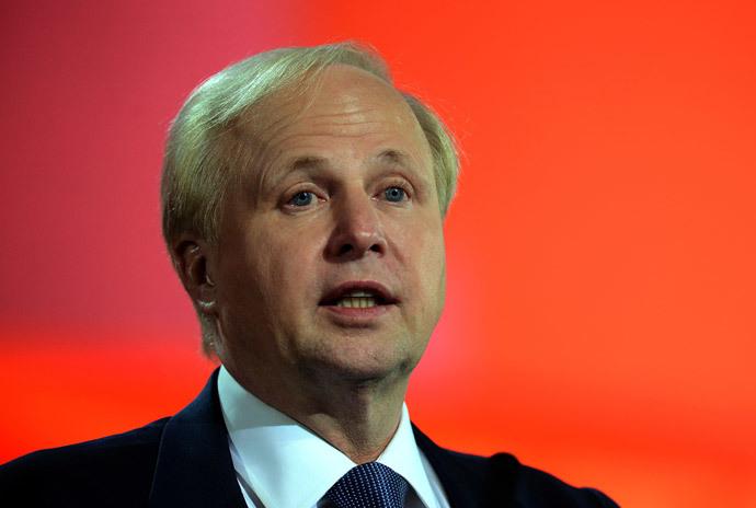 British energy giant BP CEO Bob Dudley (AFP hoto / Vasily Maximov)