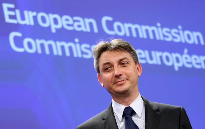 European Budget Commissioner, Jacek Dominik. (Reuters / Francois Lenoir)