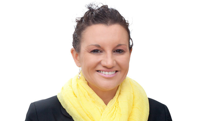 Jacqui Lambie (image from Jacqui Lambie Facebook page)