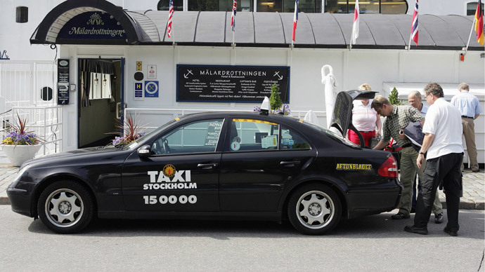 Therapists in cabs? Yes, if you live in Stockholm