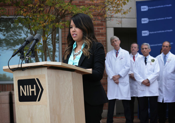 Nurse Nina Pham (Alex Wong / Getty Images / AFP)