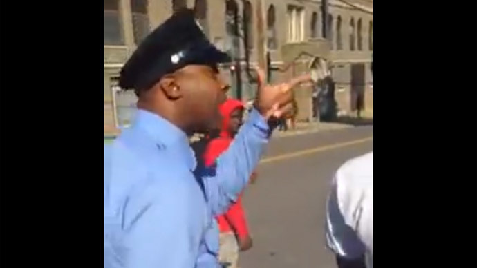 Philly cop threatens to 'beat the s**t' out of teen for looking at him (VIDEO)