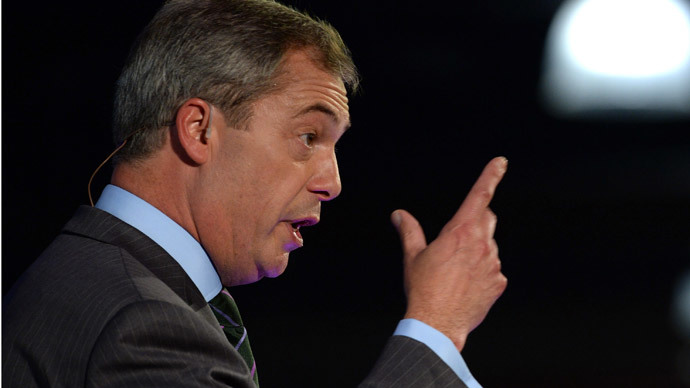 "Nigel Farage says blacking-up ""just a bit of fun"""