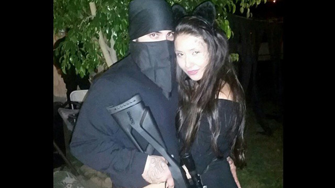 #Shameless: People don ISIS attire for Halloween