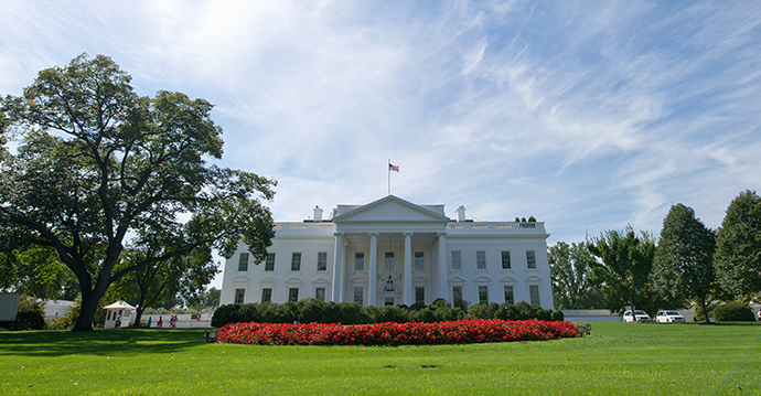 The White House in Washington, DC (AFP Photo)