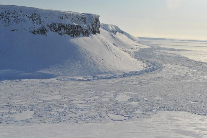 Panorama of the Franz Josef Land Archipelago. (Reuters/Vladimir Baranov)