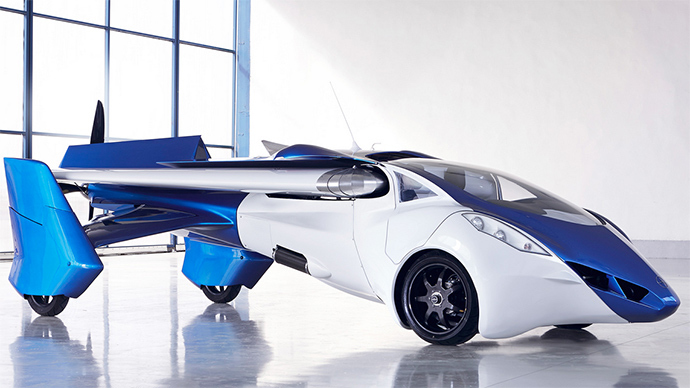 First transformer flying car ready for production (VIDEO)