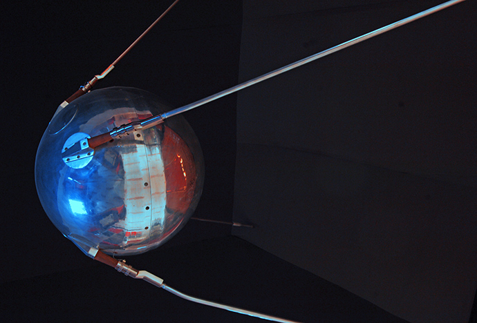 First man-made satellite was launched on October 4, 1957 (RIA Novosti)