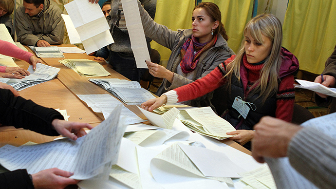 Ukraine's Opposition Bloc scores 9% of votes despite winning southeast, slams elections as rigged