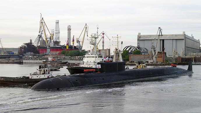 "The strategic nuclear submarine K-535 ""Yuri Dolgoruky"" (RIA Novosti)"