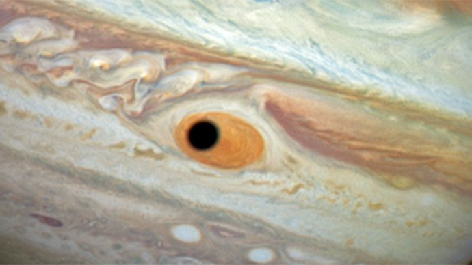 Jupiter's 'one-eyed giant Cyclops' captured by Hubble