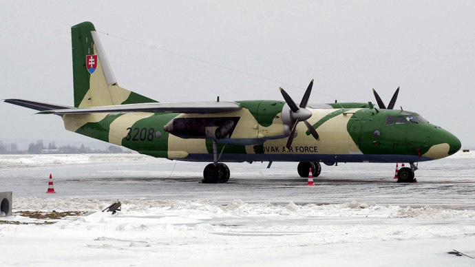 An-26 (AFP Photo/TASR)