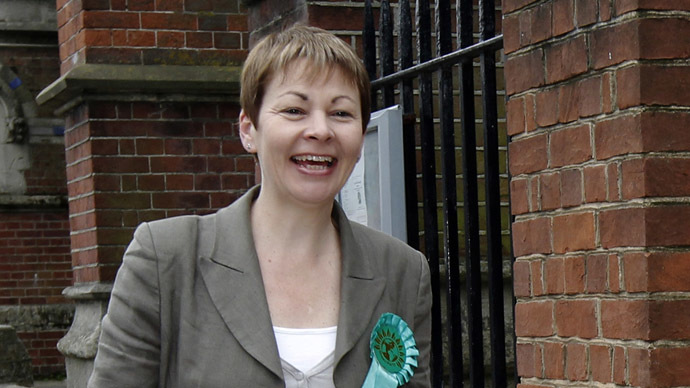 The Green Party's MP for Brighton Pavilion, Caroline Lucas. (Reuters/Luke MacGregor)