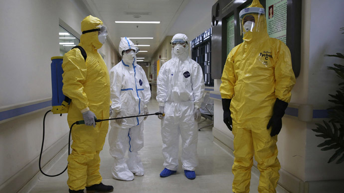 Doomsday 'preppers': Biohazard suit sales soar amid UK Ebola panic