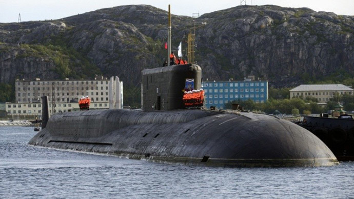 ​Inside Russian nuclear sub as it fires missile that can level a city (VIDEO)