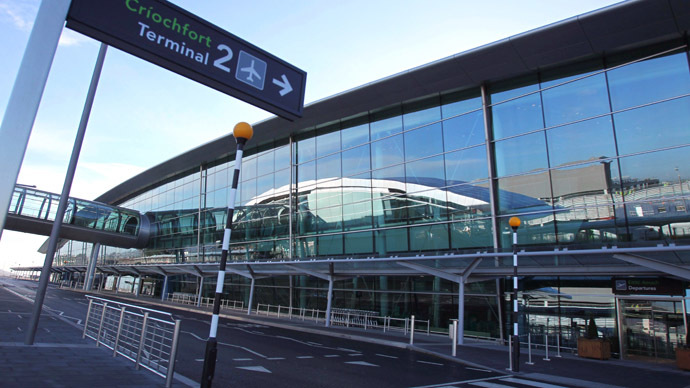 'Ebola' coffee cup puts plane on lockdown at Dublin Airport