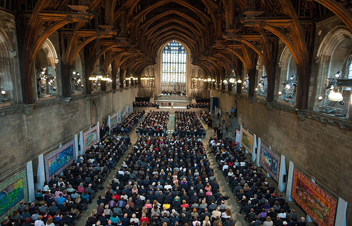 Westminster Hall, central London (AFP Photo)