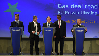 EU to restart gas talks with Russia, Ukraine